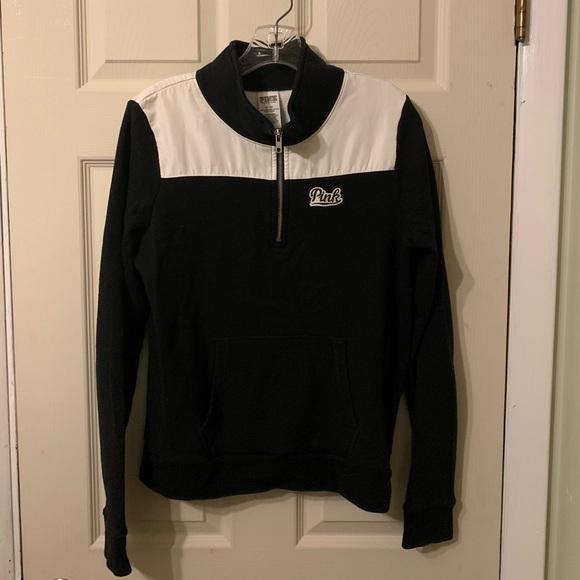 Pink Zip Sweatshirt Jacket
